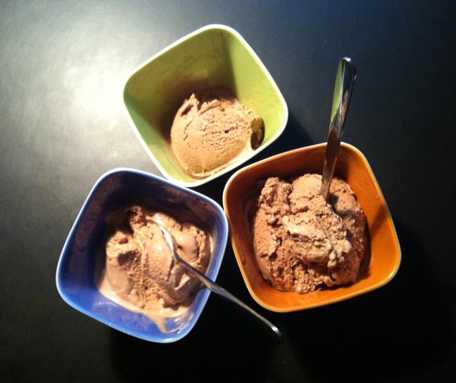 chocolate banana ice cream is like eating a chocolate covered banana ...